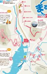 まるごと長崎車窓コース地図
